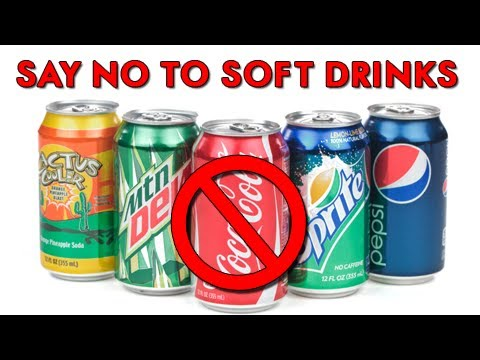 No to softdrinks