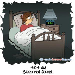 December Sleeping Challenge