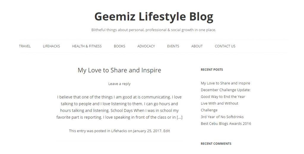 Geemiz lifestyle Blog