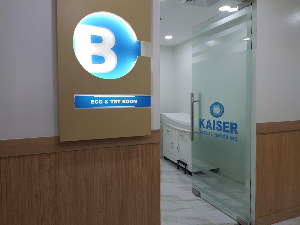 ECG and 2D Echo Kaiser Medical Center