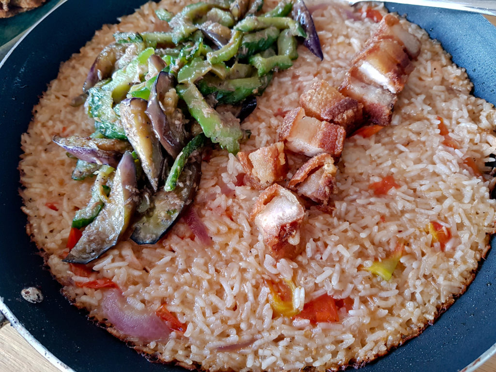 Filipino Food - Pinakbet Rice